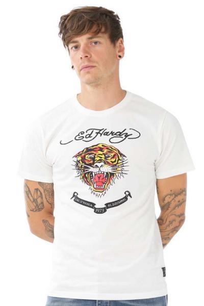 Tee Shirt Homme ed hardy TSHIRT HARD BL