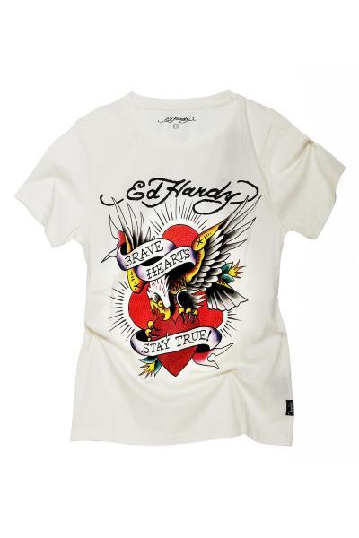 Tee Shirt Homme ed hardy TSHIRT DAM BL