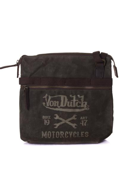 Sacoche Homme Von Dutch SAC ASAKI MARRON