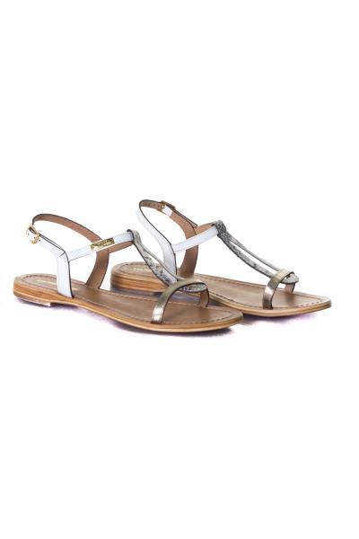 Chaussures Femme Les Tropéziennes de M Belarbi HAMAT BLANC MULTI