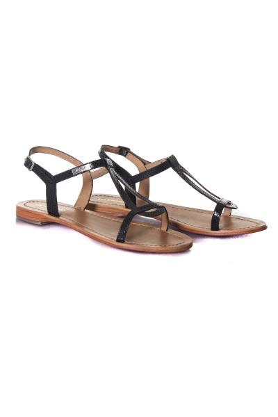 Chaussures en cuir été femme