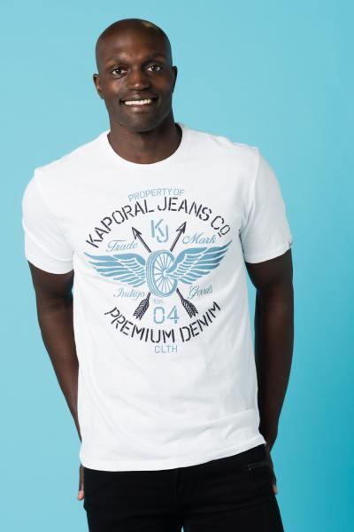 Tee Shirt Homme Kaporal BERNO WHITE