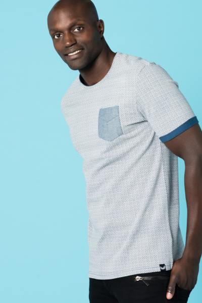 Tee Shirt Homme Kaporal SOWER BLUE US