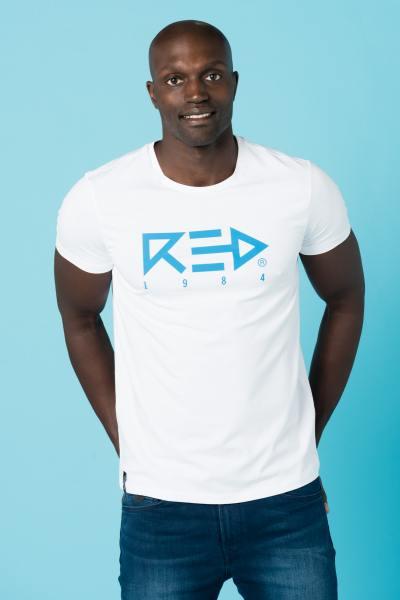 Tee Shirt Homme Redskins ARROW 2 CALDER WHITE