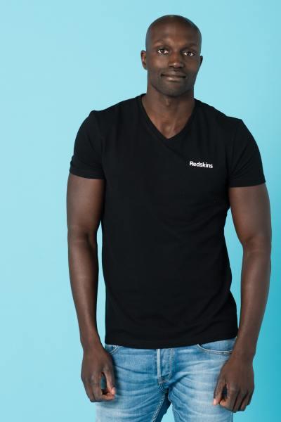 Tee Shirt Homme Redskins MAUR NEW BLACK