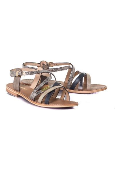 Chaussures Femme Les Tropéziennes de M Belarbi HAPAX TAUPE/SERPENT