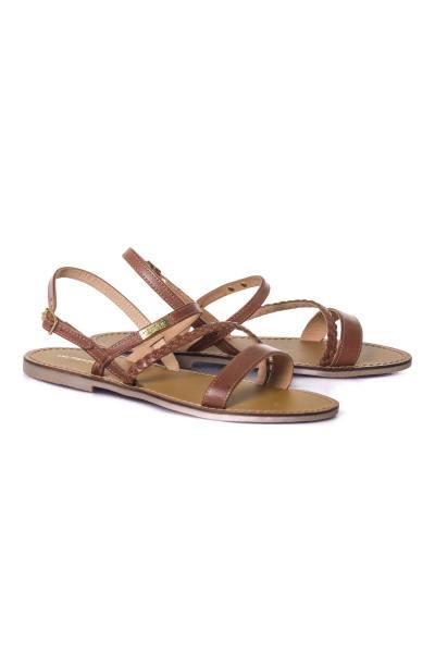 Sandales tan été femme