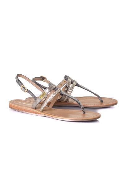 Chaussures Femme Les Tropéziennes de M Belarbi BARAKA SERPENT OR