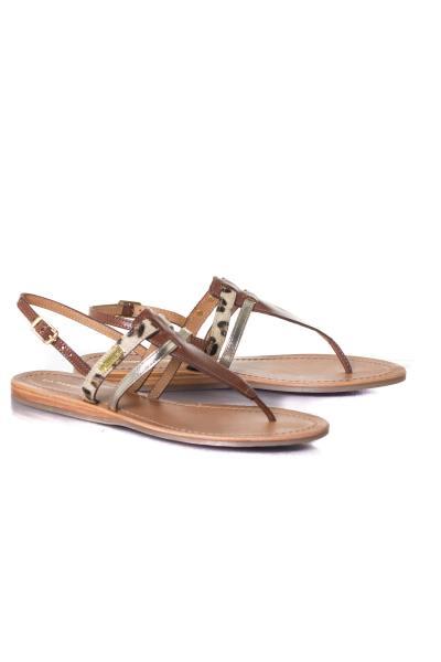 Chaussures Femme Les Tropéziennes de M Belarbi BARAKA TAN LEOPARD