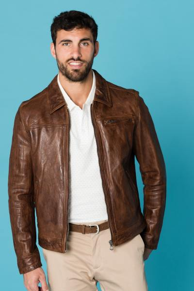 Blouson Homme Daytona MAJOR SHEEP TIGER TAN