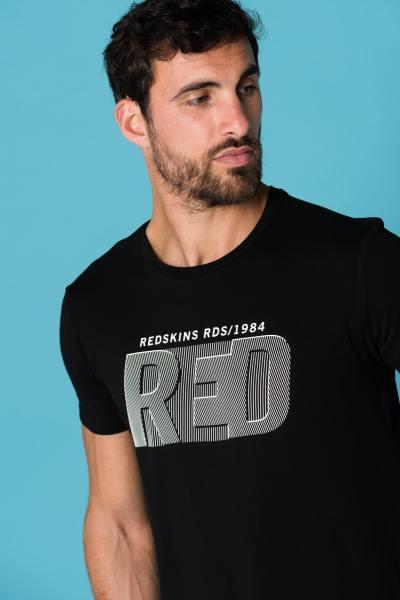 Tee Shirt Homme Redskins EVOKED LIFTED BLACK