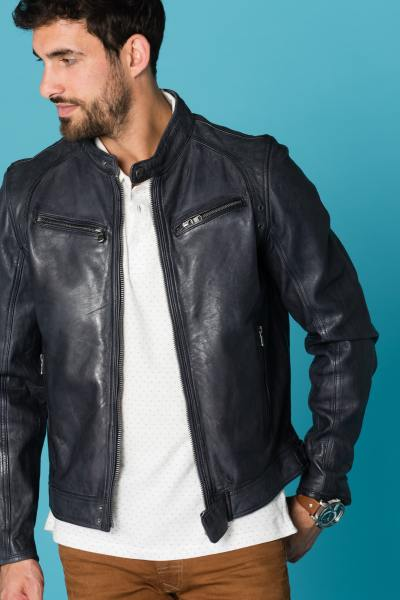Blouson Homme Daytona DUSTIN SHEEP TIGER MIDNIGHT BLUE