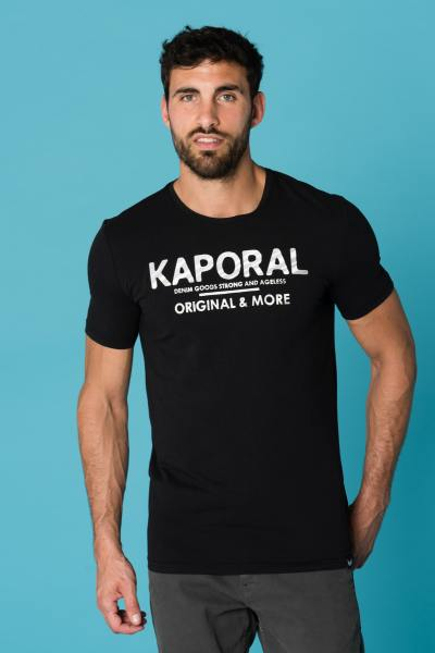 Tee Shirt Homme Kaporal SINCE BLACK