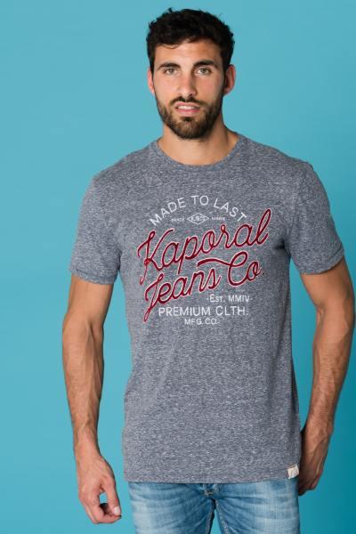 Tee Shirt Homme Kaporal BACCA NAVY MELANGE
