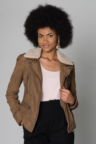 Blouson Femme Oakwood PROJECTION CAFE 506