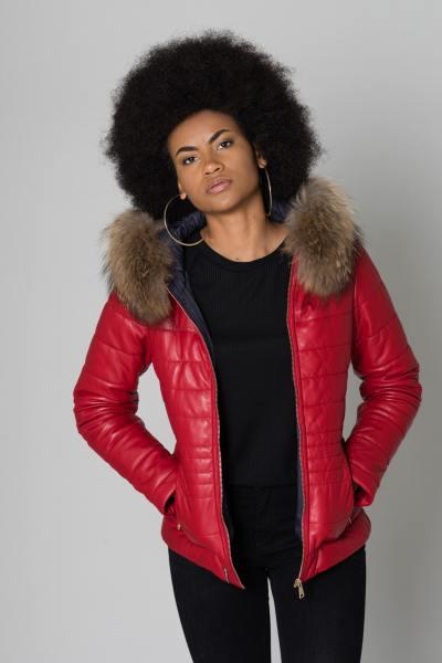 Blouson Femme Oakwood JELLY ROUGE 539