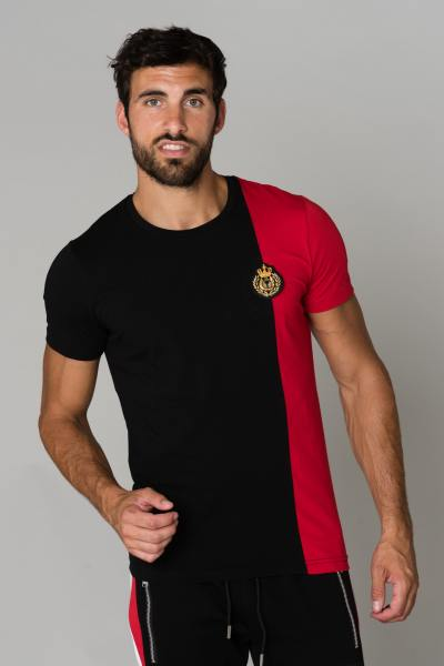 Tee Shirt Homme horspist ORLANDO BLACK/RED