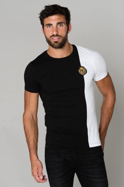 Tee shirt coton manches courtes              title=
