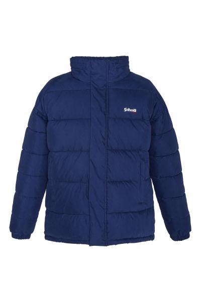 Marineblaue Baumwolljacke aus Unisex-Baumwolle