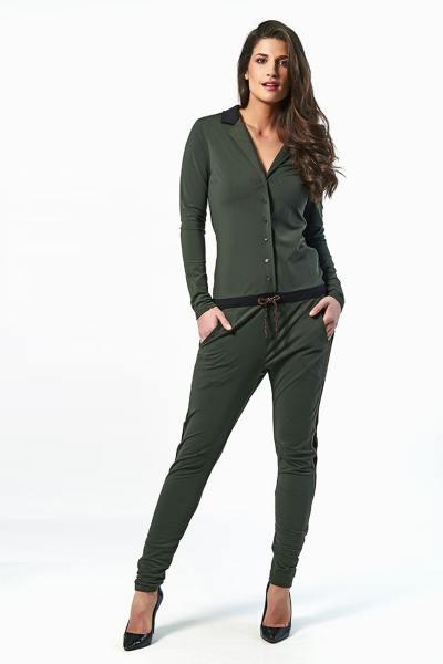 Damen Khaki-Anzug               title=