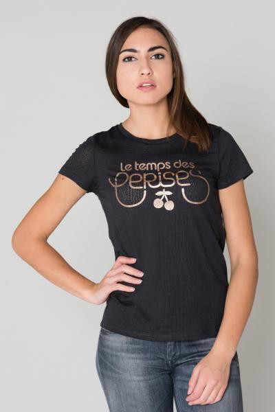Tee Shirt Femme Le temps des Cerises TSHIRT KASITRAME MIDNIGHT