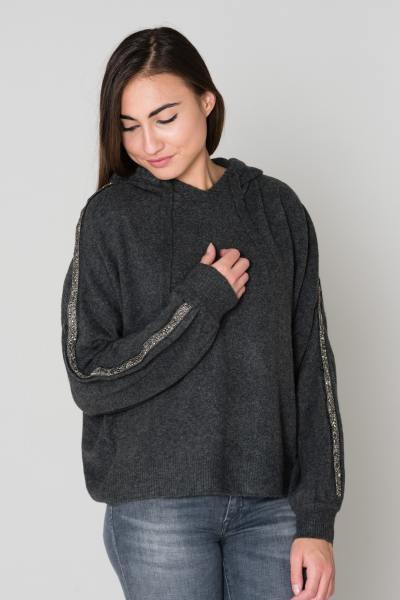 Pull/Sweatshirt Femme Le temps des Cerises PULL F COOLEST DARK ASH GREY