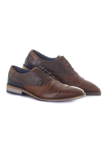 Chaussures à lacets Homme Chaussures Redskins BARBU COGNAC MARRON MARINE