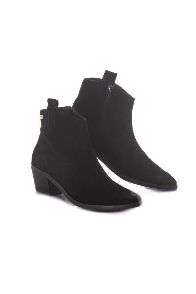 Damen Stiefel im Wildleder-Look              title=