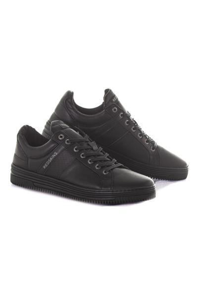 Chaussure en cuir noire              title=