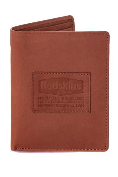 Portefeuille homme Accessoires Redskins PORTEFEUILLE RED IGLOO COGNAC
