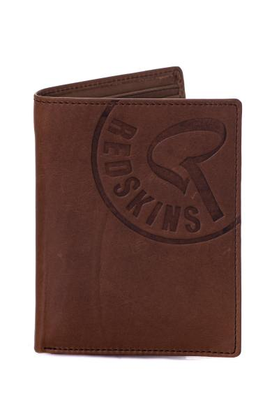 Portefeuille homme Accessoires Redskins PORTEFEUILLE RED ELECTRON MARRON