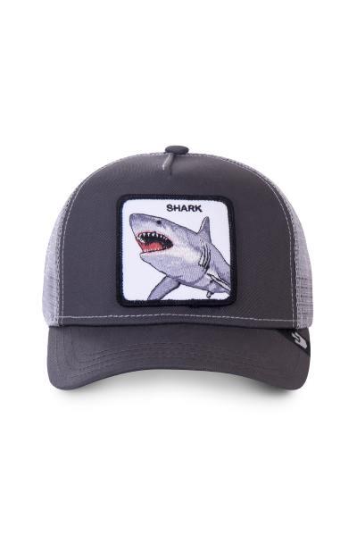Casquette mixte avec écusson requin              title=