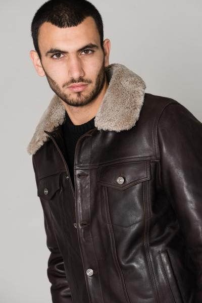 Blouson Homme Redskins PLAYER STRICKING TOGO