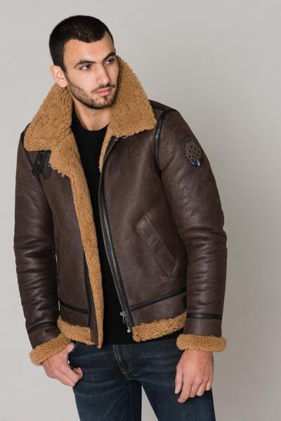 Blouson Homme Redskins MISTRAL BROWN GINGER