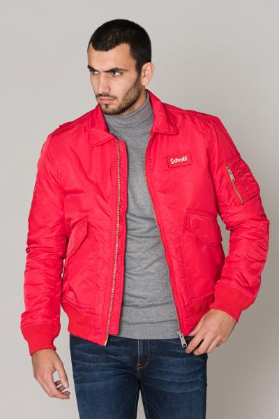 Blouson Homme Schott 210100 RED