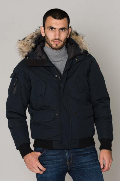 Blouson Homme Helvetica ANCHORAGE MEN RACCOON ED NAVY 2K20