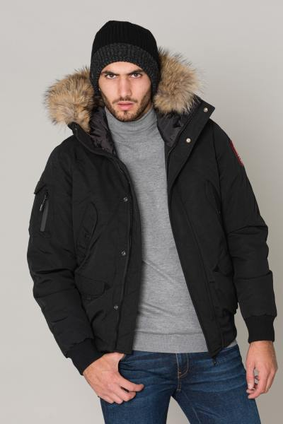 Blouson Homme Helvetica ANCHORAGE MEN RACCOON EDITION BLACK 2K20