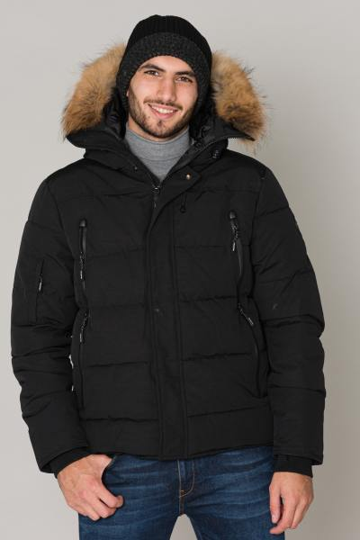 Veste Homme Helvetica NEVADA RACCOON EDITION BLACK 2K20