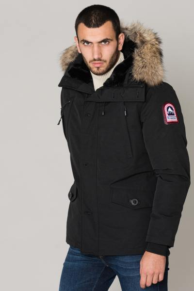 Veste Homme Helvetica ONTARIO MEN RACCOON EDITION BLACK 2K20