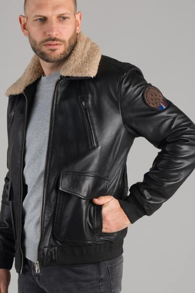 Blouson Homme Redskins FLIGHT SIERRA BLACK