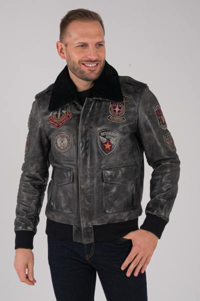 Blouson Homme Redskins PERRY DISCOVERY BLACK