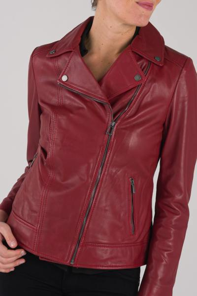 Blouson Femme rose garden BREDA CURVE SHEEP MANILA RED CHIL