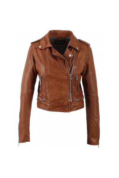 damen Jacke oakwood KYOTO COGNAC 507              title=