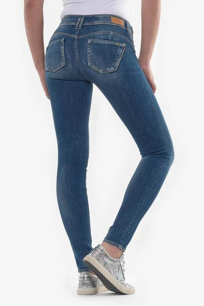 Jean stretch coupe slim effet push-up              title=