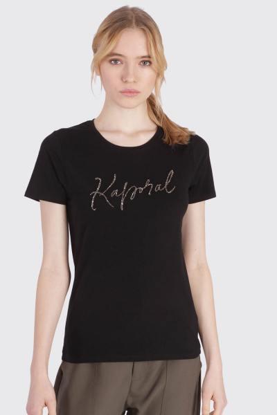 Tee Shirt Femme Kaporal RAXI BLACK