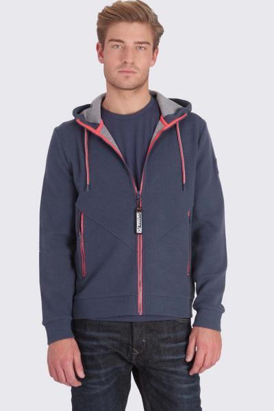 Veste sportswear bleue homme              title=