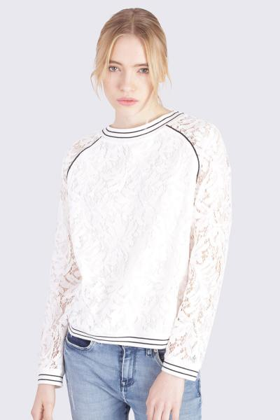 Pull/Sweatshirt Femme Kaporal ARDY OPT WHITE
