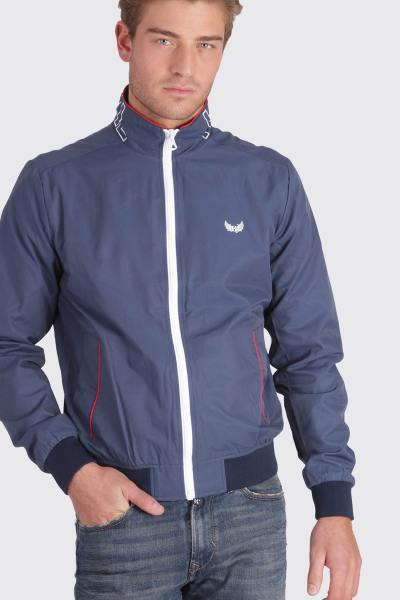 Veste sportswear bleu marine homme              title=