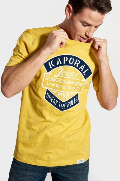 Tee Shirt Homme Kaporal TORZO CURRY