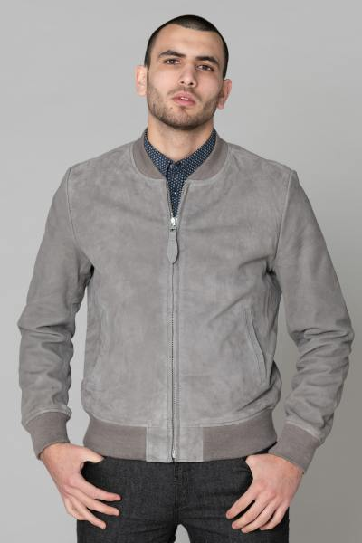 Blouson Homme Schott LC300 LIGHT GREY
